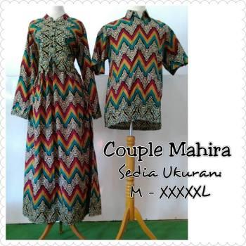Sarimbit Batik ini bisa didapatkan dengan harga 135.000-200.000 dan bisa  pesan ukuran mulai dari S ae17e632b9